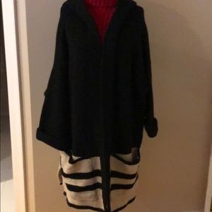 Zara. Black knit sweater